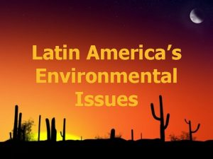 Latin Americas Environmental Issues Air Pollution in Mexico