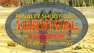 SURVIVAL PENALTY SHOOTOUT HOW TO PLAY SURVIVAL INSTRUCTIONS