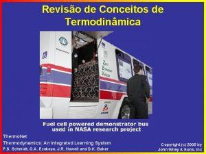 Reviso de Conceitos de Termodinmica Thermo Net Thermodynamics