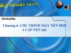 Tn bi ging Chng 4 CHU TRNH MY