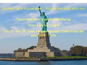 TRNG THCS THANH BNH THNH PH IN BIN
