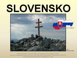 SLOVENSKO Obr 2 Historicair Obr 1 Miroslav Navrtil