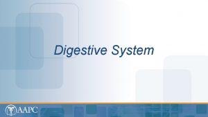 Digestive System CPT copyright 2012 American Medical Association