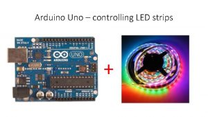 Arduino Uno controlling LED strips Are all LED