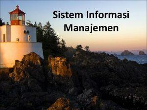 Sistem Informasi Manajemen PERKENALAN BIODATA DOSEN Nama Nori