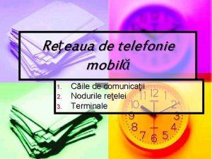Reeaua de telefonie mobil 1 2 3 Cile