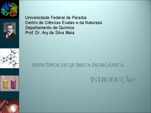 Universidade Federal da Paraba Centro de Cincias Exatas