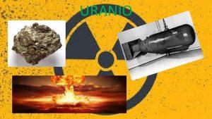 URANIO Che cos luranio L uranio un metallo