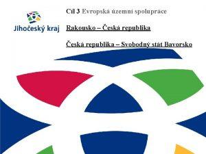 Cl 3 Evropsk zemn spoluprce Rakousko esk republika