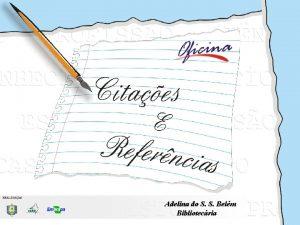 Adelina do S S Belm Bibliotecria CITAES E