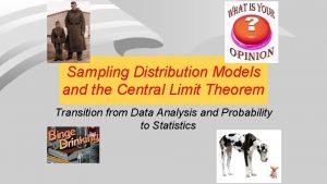 Sampling Distribution Models and the Central Limit Theorem