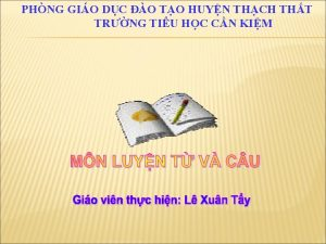 PHNG GIO DC O TO HUYN THCH THT