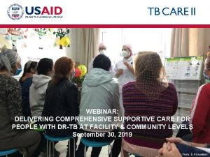 WEBINAR DELIVERING COMPREHENSIVE SUPPORTIVE CARE FOR PEOPLE WITH