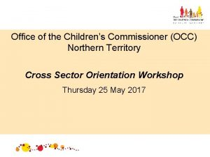 Office of the Childrens Commissioner OCC Northern Territory