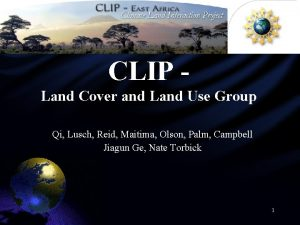 CLIP Land Cover and Land Use Group Qi