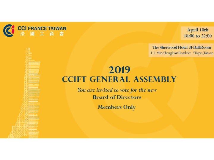 2019 Benefactor Members Wednesday April 10 th 2019