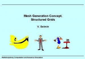 Mesh Generation Concept Structured Grids V Selmin Multidisciplinary