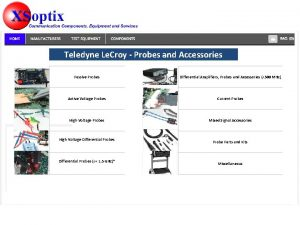 Teledyne Le Croy Probes and Accessories Passive Probes
