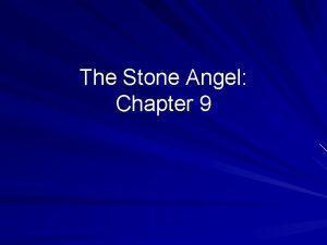 The Stone Angel Chapter 9 Plot 1 Summary