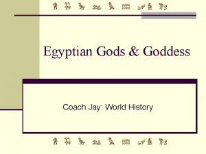 Egyptian Gods Goddess Coach Jay World History Ra