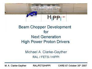 Beam Chopper Development for Next Generation High Power