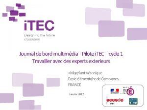 Journal de bord multimdia Pilote i TEC cycle