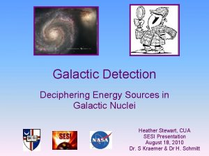 Galactic Detection Deciphering Energy Sources in Galactic Nuclei