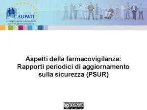 Accademia europea dei pazienti sullinnovazione terapeutica Aspetti della