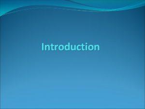 Introduction Petroleum Definitions Petroleum is a complex mixture