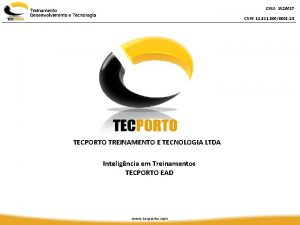 CREA 1926617 CNPJ 18 311 3060001 24 TECPORTO