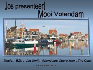 Music BZN Jan Smit Volendams Opera koor The