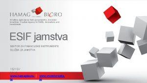 Hrvatska agencija za malo gospodarstvo inovacije i investicije