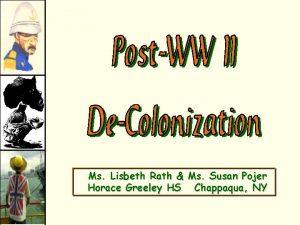 Ms Lisbeth Rath Ms Susan Pojer Horace Greeley