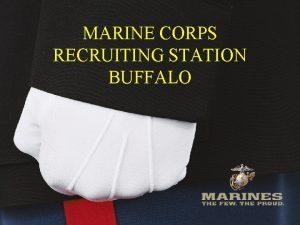 WNYSCC MARINE CORPS RECRUITING STATION BUFFALO 10292020 Recruiting