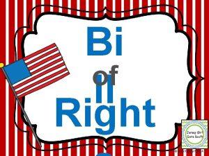 Bi of ll Right Erin Kathryn 2014 What