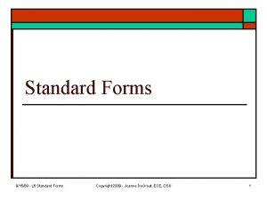 Standard Forms 91509 L 6 Standard Forms Copyright