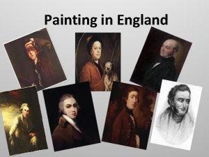 Painting in England Painting in England in the