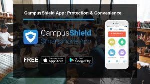 Campus Shield App Protection Convenience FREE Campus Shield