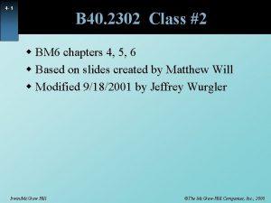4 1 B 40 2302 Class 2 w