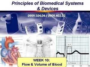 Principles of Biomedical Systems Devices 0909 504 04