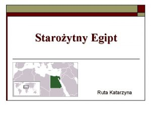 Staroytny Egipt Ruta Katarzyna Spis treci q q