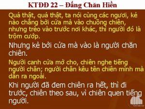 KT 22 ng Chn Hin Qu tht qu