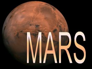 MARS BY THE NUMBERS Discovery Date of Discovery
