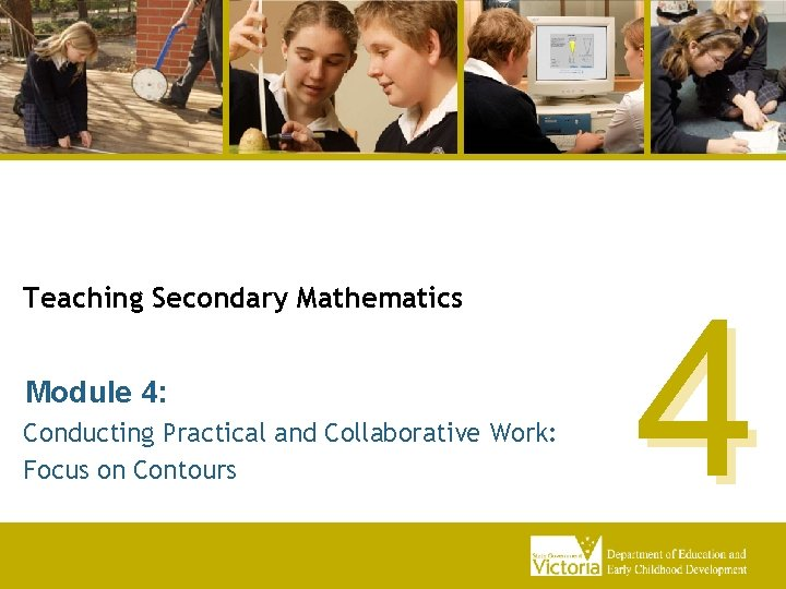 Teaching Secondary Mathematics Module 4 Conducting Practical and