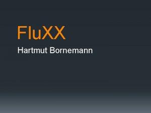 Flu XX Hartmut Bornemann Flu XX Hartmut Bornemann