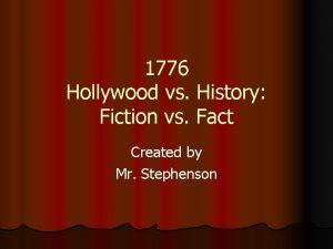 1776 Hollywood vs History Fiction vs Fact Created