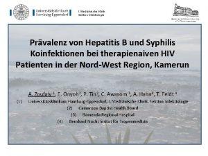 I Medizinische Klinik Sektion Infektiologie Prvalenz von Hepatitis