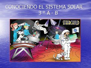 CONOCIENDO EL SISTEMA SOLAR 3AB EL UNIVERSO Qu