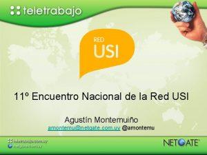 11 Encuentro Nacional de la Red USI Agustn