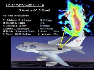 Polarimetry with SOFIA G Novak and C D